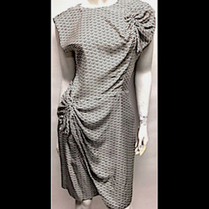 Stunning Vtg DVF 'Agata' Silk Dress, Size M
